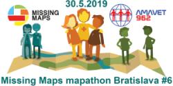 Registrácia na Missing Maps mapathon Bratislava #6