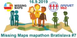 Registrácia na Missing Maps mapathon Bratislava #7