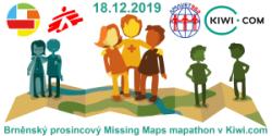 Klub AMAVET 962 spoluorganizuje brnenský decembrový Missing Maps mapathon v Kiwi.com
