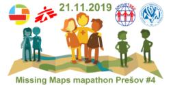 Klub AMAVET 962 organizuje štvrtý prešovský Missing Maps mapathon
