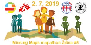 Registrácia na Missing Maps mapathon Žilina #5