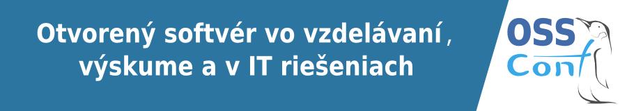 PROMOSPRAVY.sk sú partnerom 10. ročníka konferencie OSSConf (Otvorený softvér vo vzdelávaní, výskume a v IT riešeniach)