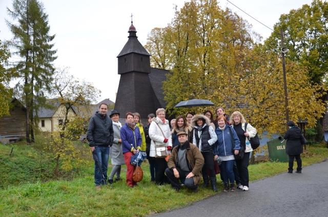 "Účastníci infocesty OOCR ""ŠARIŠ"" – Bardejov v Hervatove, zdroj: PAPER LIFE"