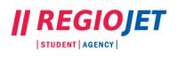 Logo dopravcu RegioJet, zdroj: regiojet.sk