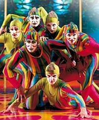 Cirque du Soleil - Saltimbanco, zdroj: cirquedusoleil.com