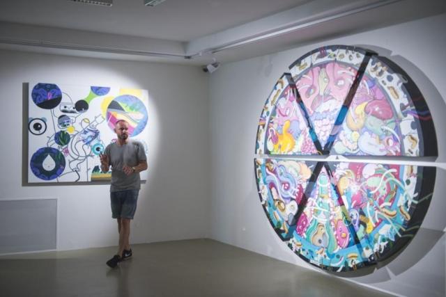 Maliarska výstava error predstavuje prierez tvorbou Erika Šilleho, zdroj obrázka: Dom umenia / Kunsthalle Bratislava