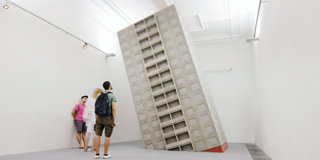 Sochárska výstava Ako doma / Modelová situácia slovenského sochárstva 20. a 21. storočia, zdroj obrázka: Dom umenia / Kunsthalle Bratislava