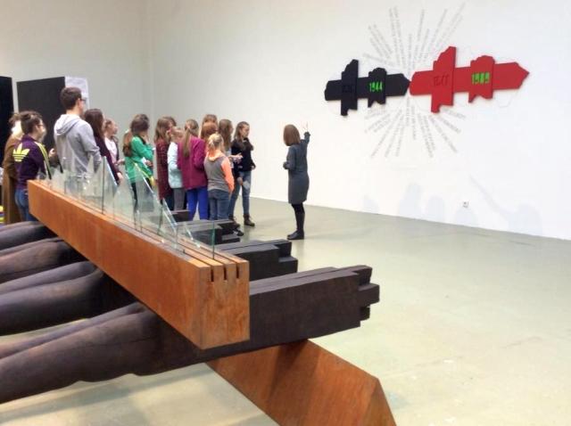 Kunsthalle KIDS: Miznúca kresba, zdroj obrázka: Dom umenia / Kunsthalle Bratislava