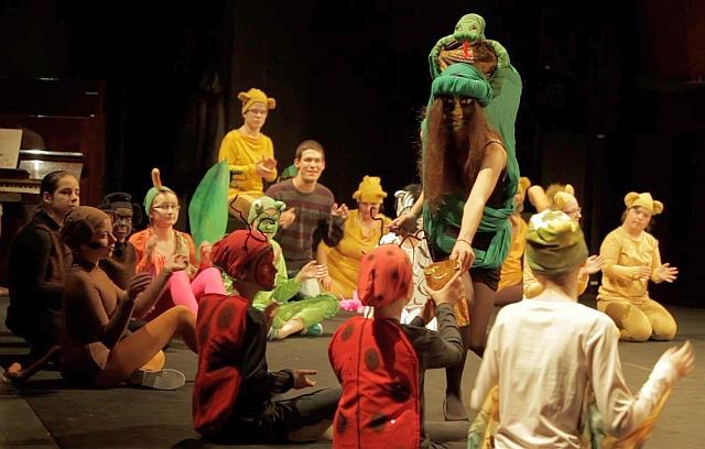 Fotky z premiéry detského muzikálu Africké rozprávky v Mestskom divadle P. O. Hviezdoslava, foto: facebook.com