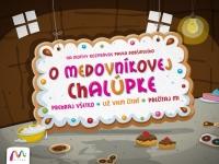Rozprávka O medovníkovej chalúpke od Pavla Dobšinského ako ako ilustrovaná interaktívna aplikácia pre zariadenia iPad