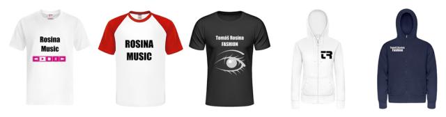 Oblečenie módnej značky Tomáš Rosina Fashion, zdroj: Rosina Music