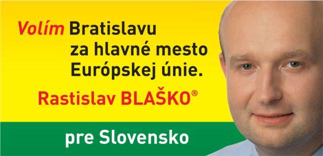 Rastislav Blaško kandidoval na predsedu Bratislavského samosprávneho kraja aj v roku 2013