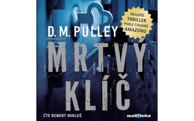 Mrtvý klíč – D. M. Pulley, zdroj: audioteka.sk