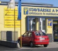 Stavbárske a maliarske centrum T-FINÁL nájdete na ulici Senecká 1 v Šamoríne, foto: tfinal.sk