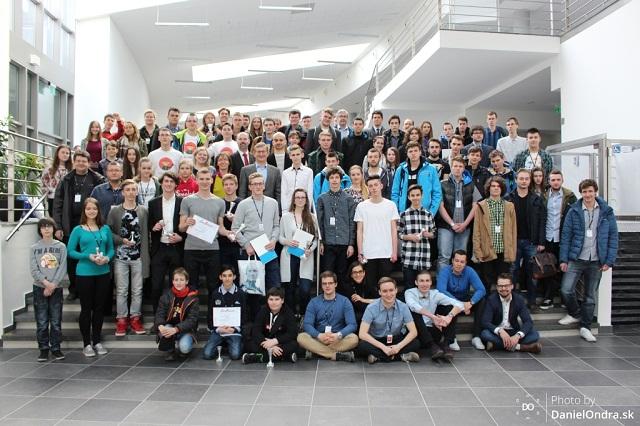 Účastníci Junior Internet 2016, foto: Daniel Ondra
