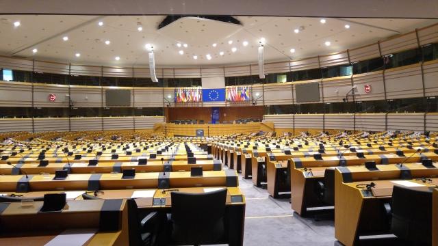 Európsky parlament, foto: pixabay.com, ChequeredInk