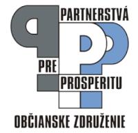 Logo občianskeho združenia Partnerstvá pre prosperitu