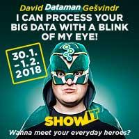 """David """"DATAMAN"""" Gešvindr Vám rád poradí s uložením, spracovaním a prezentovaním dát v oblasti vývoja a správy databáz v Microsoft SQL Serveri aj implementácii cloudových služieb v Microsoft Azure. zdroj: GOPAS"""