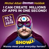 """Michal Altair """"DEVMAN"""" Valášek je odborný konzultant a lektor. V oboch rolách sa zaoberá tvorbou, prevádzkou a zabezpečením webových aplikácií na platforme ASP.NET. Už 6-krát bol ocenený titulom Microsoft Most Valuable Professional v odbore ASP.NET. zdroj obrázka: GOPAS"""