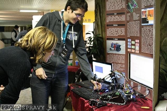 záber z Festivalu vedy a techniky 2012, foto: Miloslav Ofúkaný