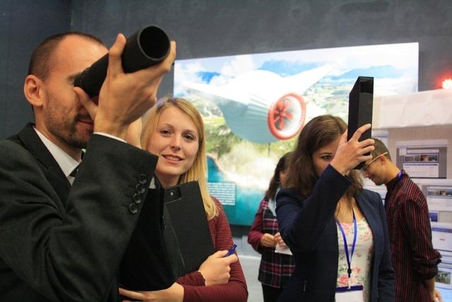záber z Festivalu vedy a techniky 19. ročník pre Bratislavský a Trnavský kraj, foto: Miloslav Ofúkaný