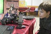 Semiautonómny prieskumno-detekčný robot, foto: Miloslav Ofúkaný