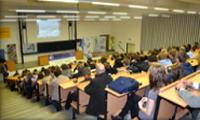Festival vedy a techniky v priestoroch Prírodovedeckej fakulty Univerzity Komenského v Bratislave, foto: AMAVET