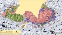 Mapa Natura 2000 s farebným odstupňovaním stupňov ochrany prírody, zdroj: tanap.org