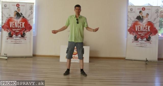Dalibor Šabata bol 24.5.2014 pozrieť priestory Sun Dance Academy a 10.6. sa tam predstaví v úlohe predsedajúceho, foto: Miloslav Ofúkaný