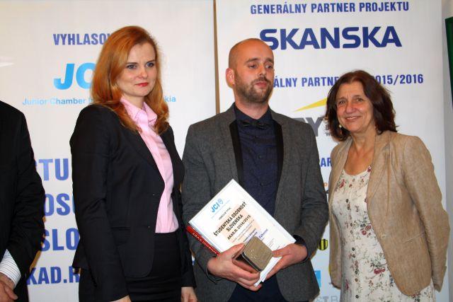 Viktor Feher – víťaz kategórie Kultúra a umenie, foto: Miloslav Ofúkaný