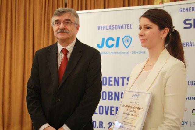 prof. Karol Mičieta a Mgr. Zuzana Kovaľová, foto: Miloslav Ofúkaný