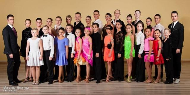 Spoločná fotka klubu Sun Dance Academy v roku 2013, foto: Martin Hranai