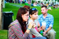 Eurovea je miesto pre oddych a relax na tráve, foto: Miloslav Ofúkaný