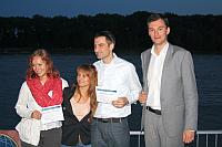 zľava: Petra Pálfyová, Katarína Kovalčíková, František Kozáček, Silvio Michal, foto: Miloslav Ofúkaný