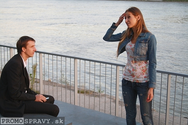 Martin Huba a Ivana Poláková, foto: Miloslav Ofúkaný