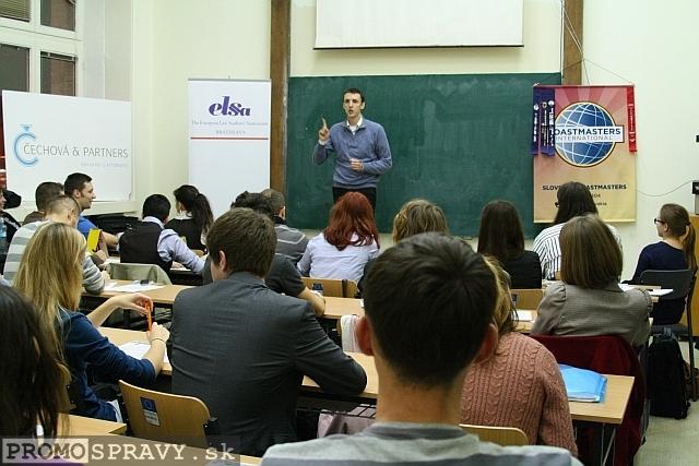 Martin Huba – viceprezident klubu Slovenskí Toastmasters pre vzdelávanie, foto: Miloslav Ofúkaný
