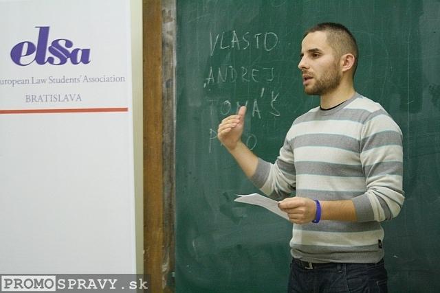 Anton Kovalčík – prezident klubu Slovenskí Toastmasters, foto: Miloslav Ofúkaný