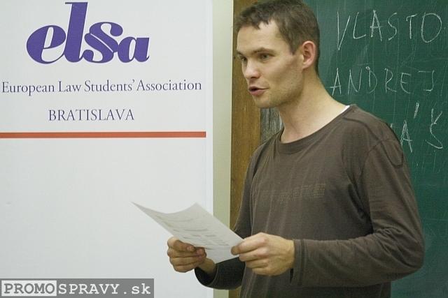 Marián Krátky – člen klubu Slovenskí Toastmasters, foto: Miloslav Ofúkaný