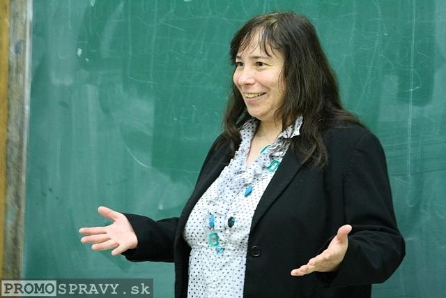Alena Murová – členka klubu Slovenskí Toastmasters, foto: Miloslav Ofúkaný