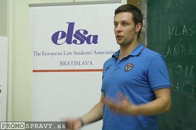 Michal Petruška – viceprezident klubu Slovenskí Toastmasters pre vzťahy s verejnosťou, foto: Miloslav Ofúkaný