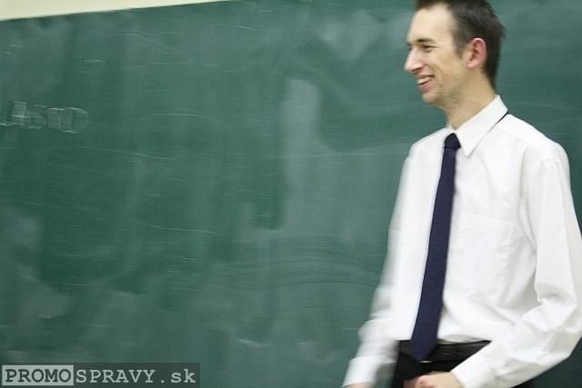 Vlastislav Šupina počas improvizácie, foto: Miloslav Ofúkaný