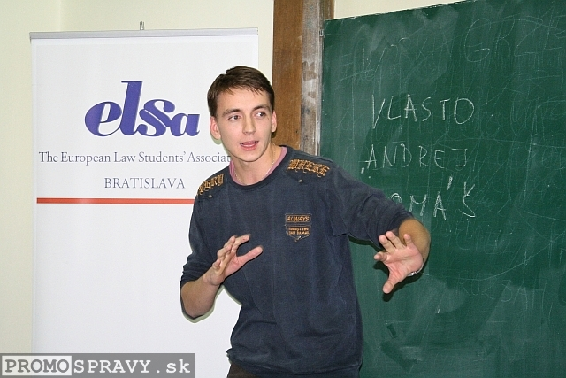 Tomáš Tuleja – člen dozornej rady ELSA Bratislava, foto: Miloslav Ofúkaný