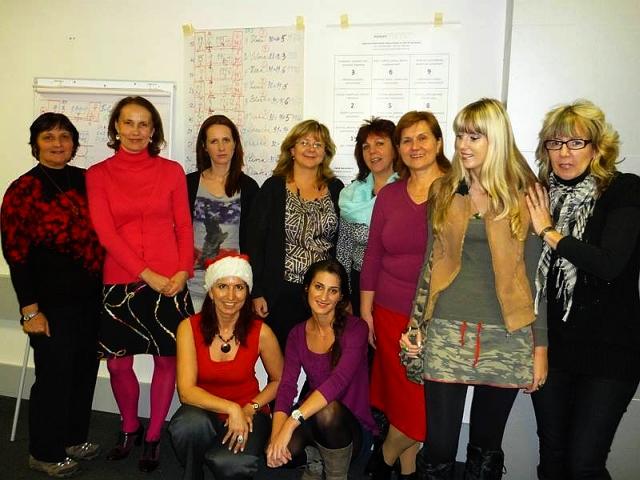 Účastníci Večernej školy numerológie NUMERO jeseň 2012, foto: NUMERO