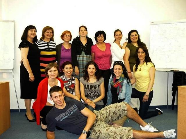 Účastníci Večernej školy numerológie NUMERO jar 2013, foto: NUMERO